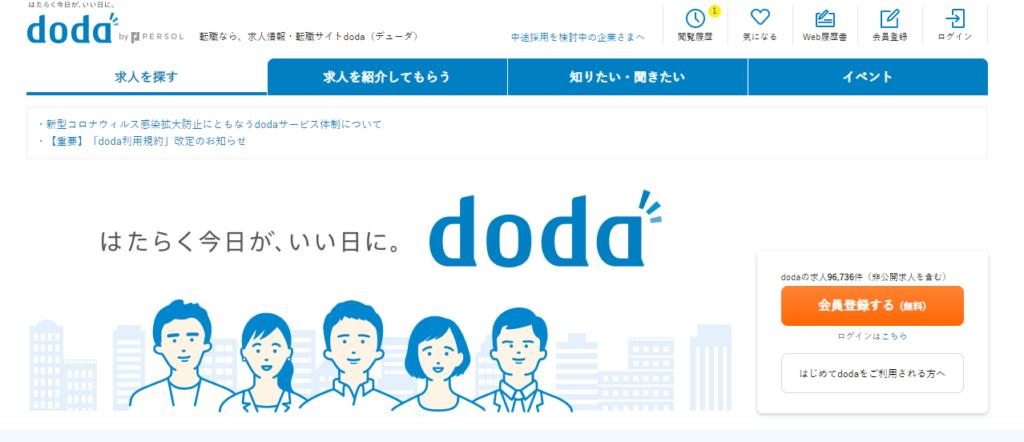 dodaのLP