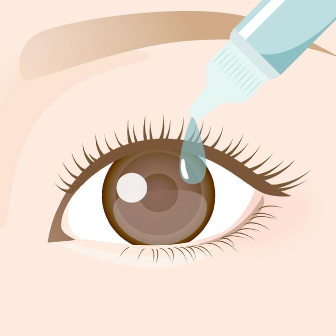 点眼麻酔のイメージ