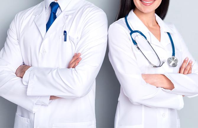 症状に合わせてどの治療が最適かしっかり診察・診断